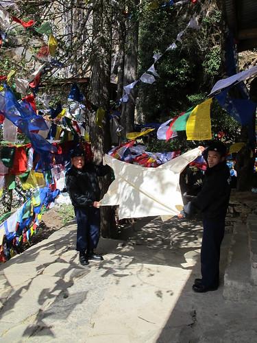 Policemen, Paro, Bhutan