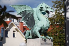 Dragon Bridge of Ljubljana