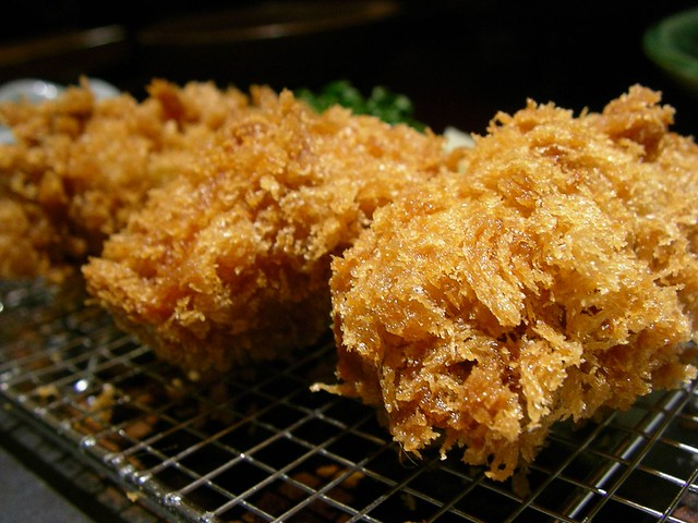Deep fried oyster @ Wako かきフライ(和幸)