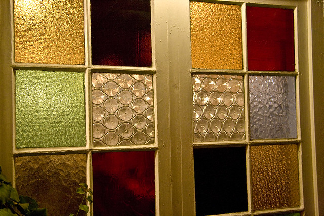 Colored glass panels flickr photo sharing for Coloured glass panels