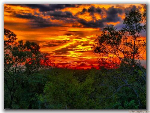 red sky sun nature clouds southafrica lumix fz20 landscapes scenery panasonic sunrises soe hdr cloudscape reserves limpopo naturesfinest 3xp noti500 hannessteyn betterthangood koedoesdraai