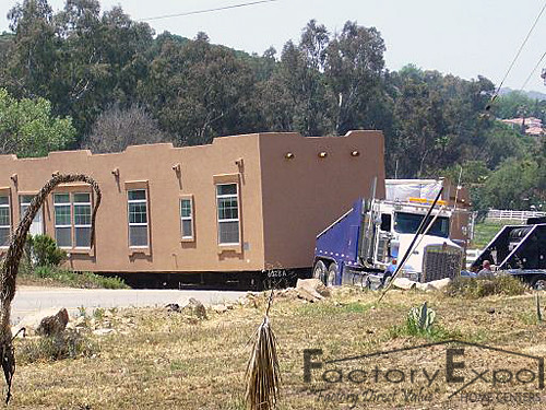 home delivery of santa fe manufactured home flickr