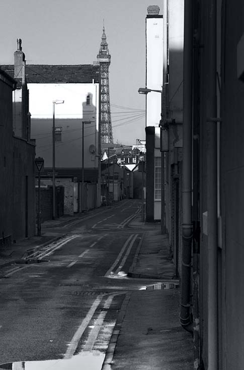 Photography - Alley by Nicholas M Vivian