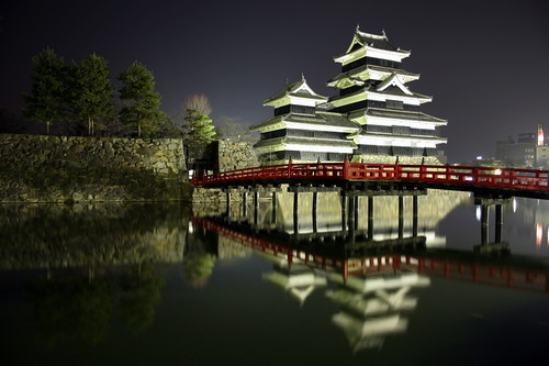 Matsumoto Castle @ Night - Matsumoto - Japan