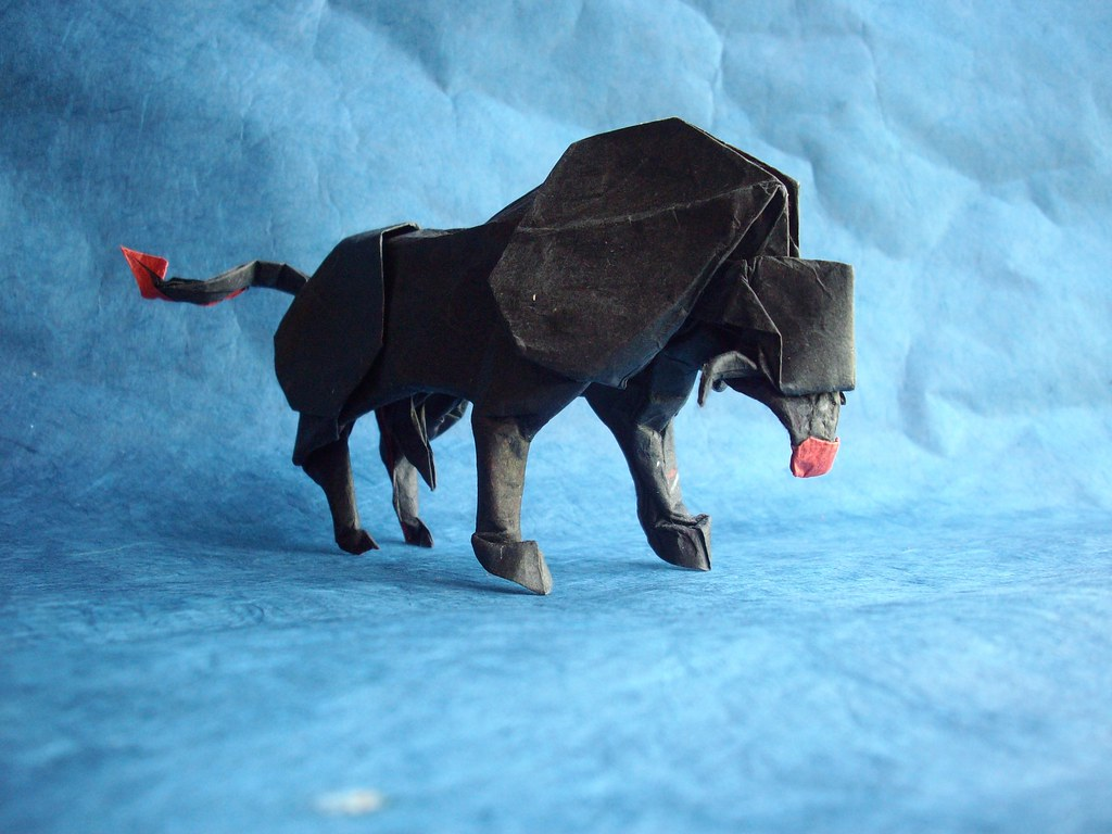 Bull Op.3, designed and folded by me