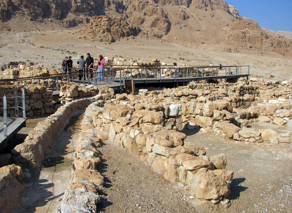 Qumran - Essenes Settlement Ruins