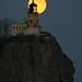 Hunter's Moon - Split Rock Lighthouse by Adam Grim