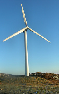 Wind turbines help for a healthier world