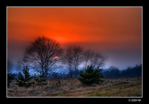sunset cool poland polska hdr 3xp zachódsłońca abigfave canon400d aplusphoto diamondclassphotographer mariuszpetelicki