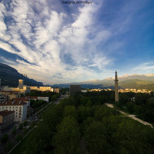 ~~ Grenoble by High #2 (Vertorama) ~~