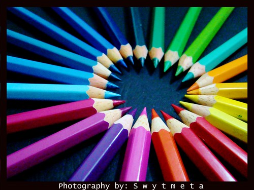 pattern - color pencils