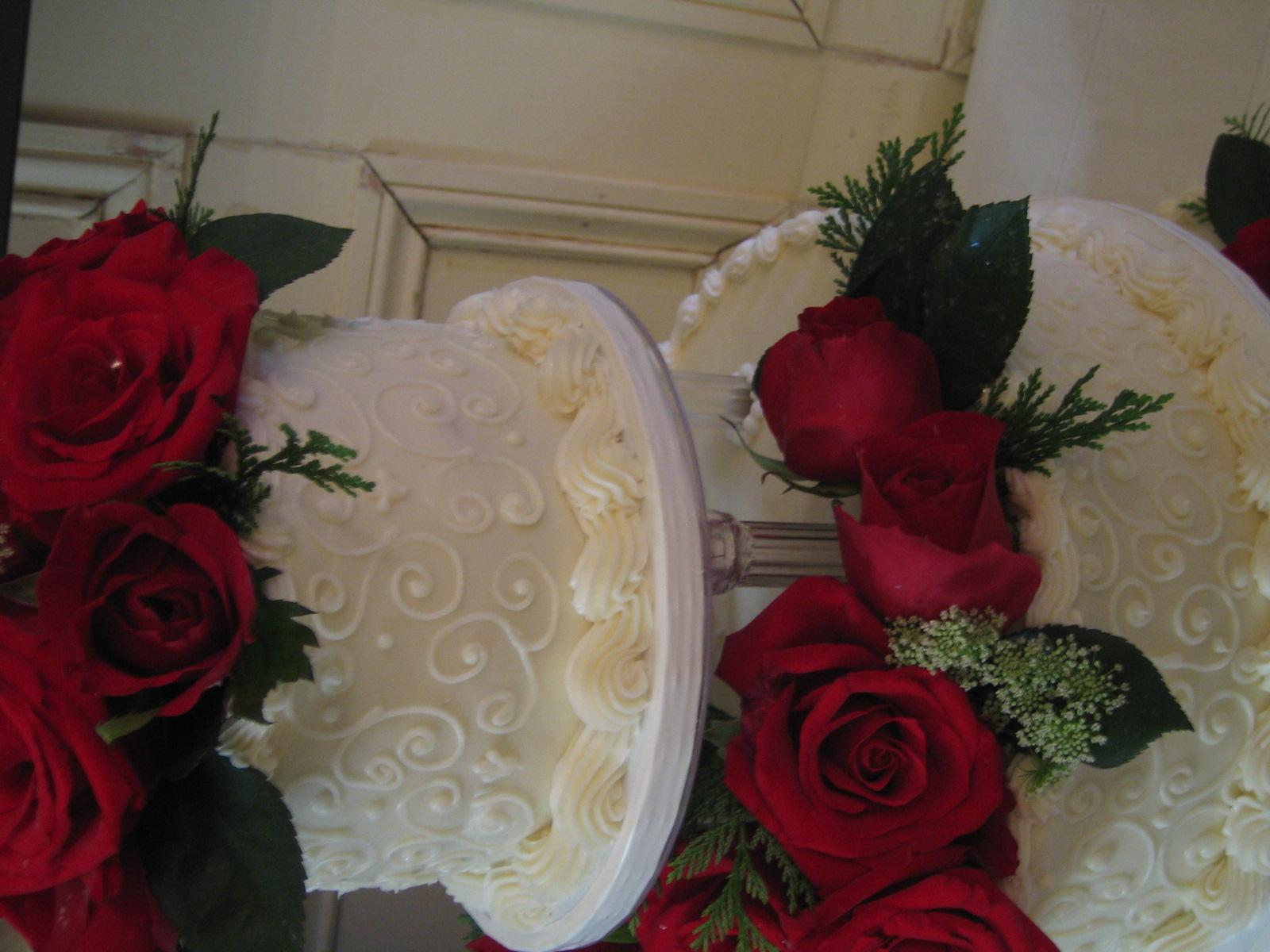 Hummingbird Wedding Cake
