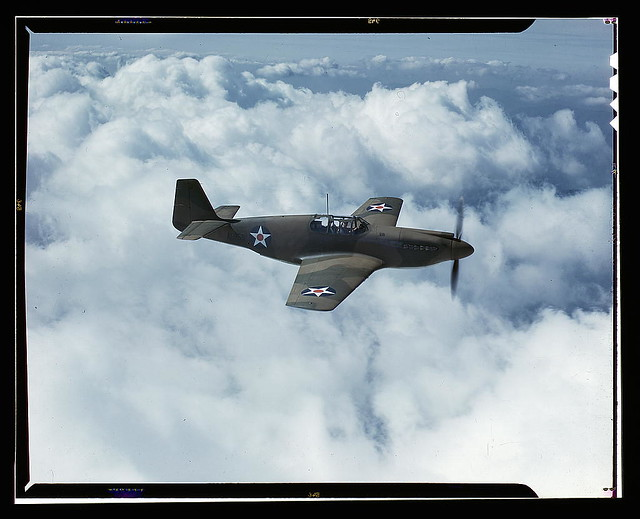 North Americans P-51 Mustang Fighter is in service with