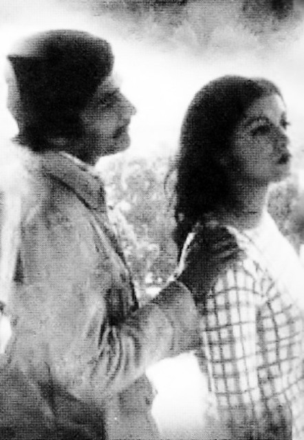 Naveen Tajik in PTV drama 'Quratul Ain' during the mid-seventies