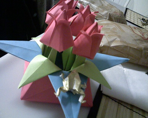 That's some crazy origami