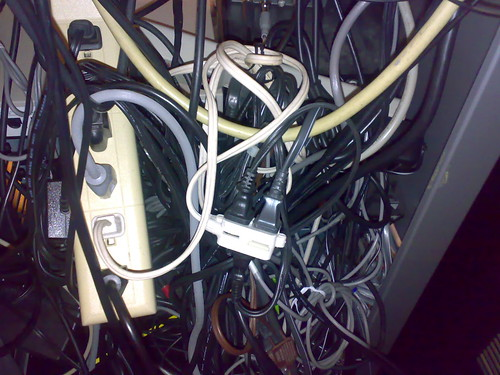 Jumble of Cords