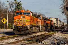 BNSF 5141 | GE C44-9W | NS Memphis District