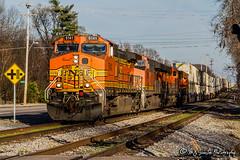 BNSF 5141 | GE C44-9W | NS Memphis District