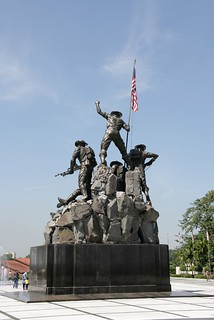 National Monument の画像. statue war malaysia malesia kl malaisie malasia kualalumpar tugunegara nationalwarmonument