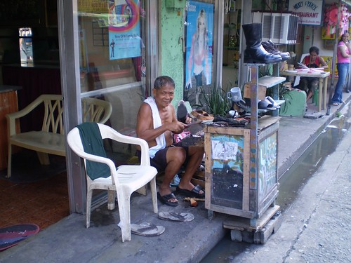 Shoe Repair Man (Manila)