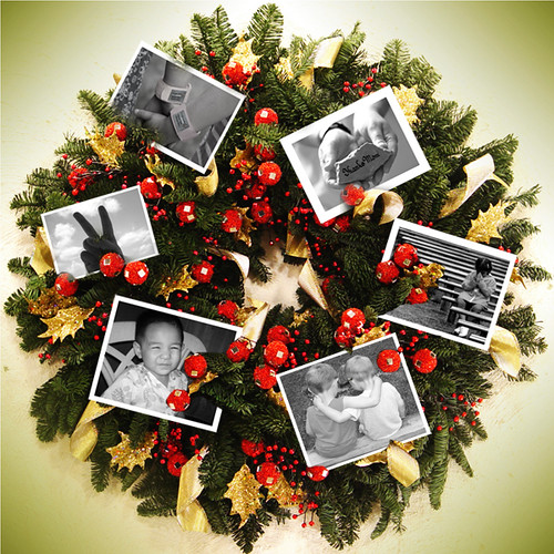 true christmas wreath