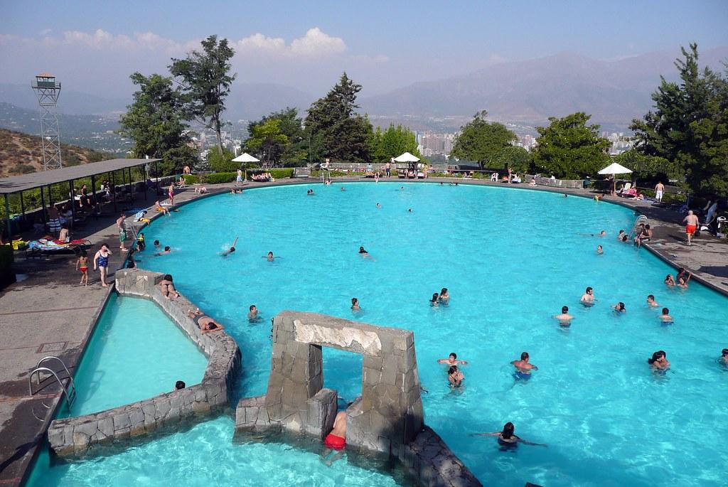 Verano del 2008, Piscina Antilen, Santiago