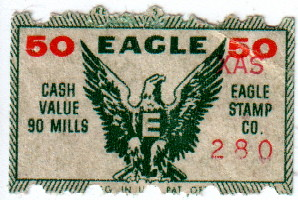 By Goggle5 Eagle Stamp Ticket War Bond