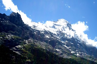 Clouds Against the Eiger