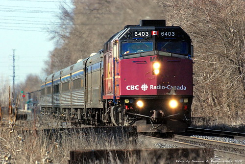 Via Rail 6403 CBC Paint