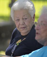 senior citizen, elder, person,