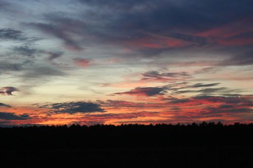 sunset december nj chatsworth pinebarrens burlingtoncounty
