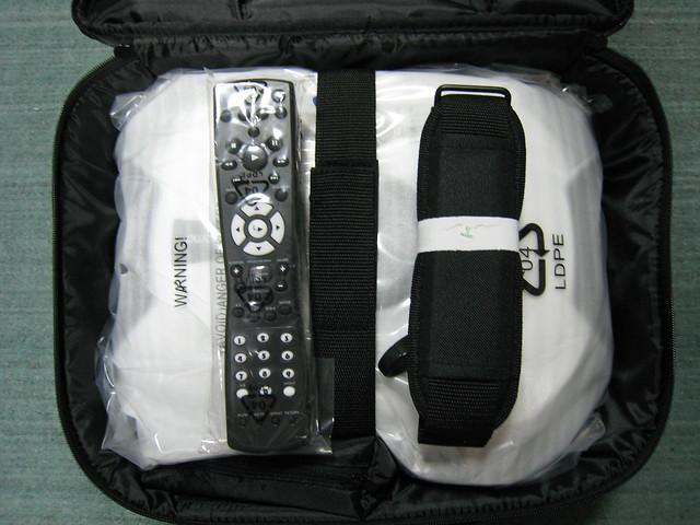 投影机,遥控器,背带