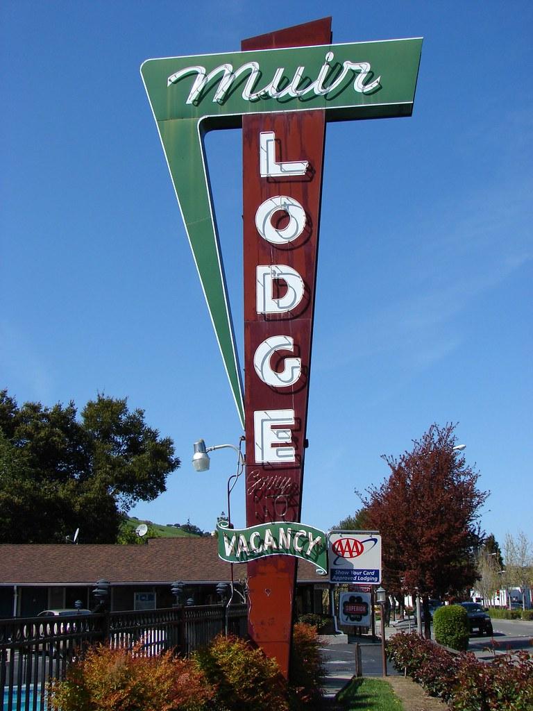 Muir Lodge - 3930 Alhambra Avenue, Martinez, California U.S.A. - March 22, 2008