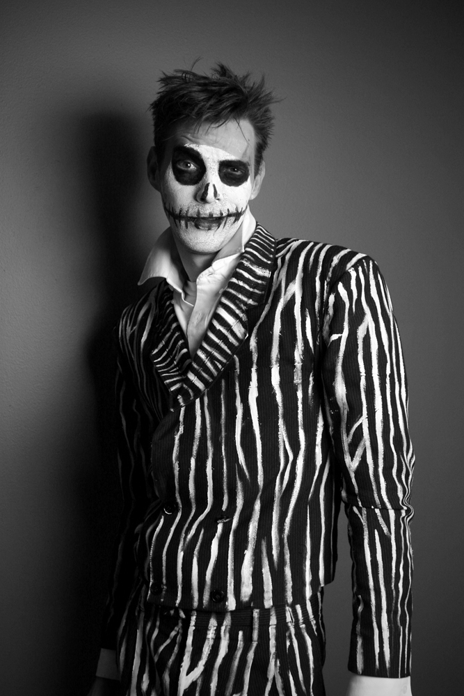 self-portrait as a skellington