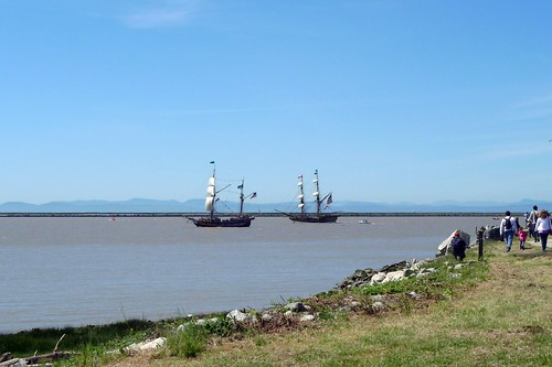 Tall ships in Steveston