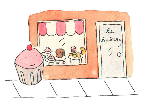 Cupcake at the Bakery