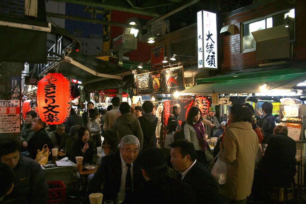 Ameyoko, Ueno, Tokyo.