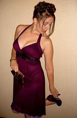 gown(0.0), undergarment(0.0), lingerie(0.0), prom(0.0), pink(0.0), neck(1.0), textile(1.0), clothing(1.0), purple(1.0), abdomen(1.0), cocktail dress(1.0), woman(1.0), fashion(1.0), satin(1.0), photo shoot(1.0), lady(1.0), human body(1.0), dress(1.0),