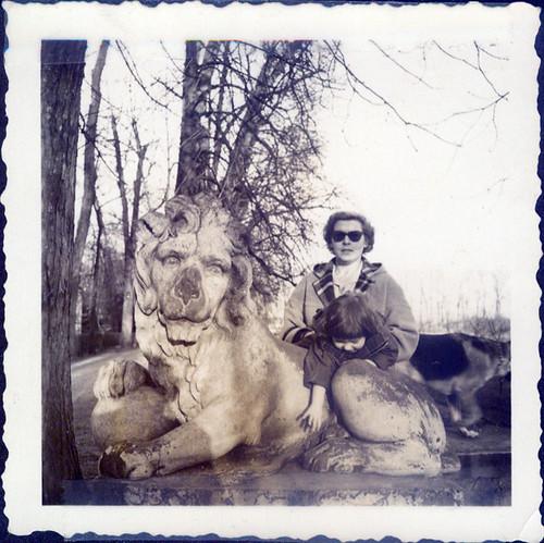 1957 Marz - Schretzingen photostamped BL8 60TEL 25
