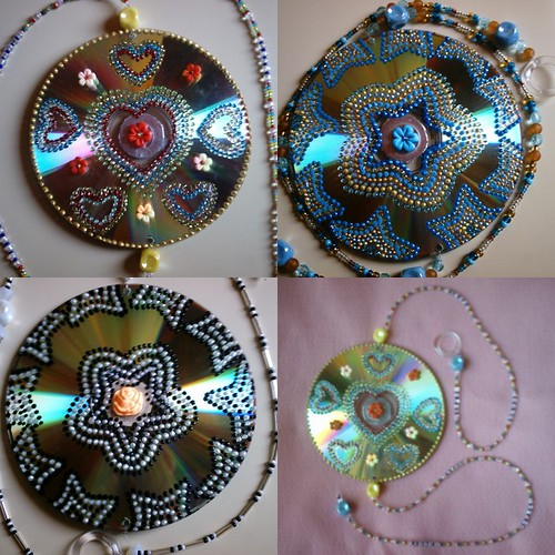 Decoraci n con cds imagui for Cd reciclados decoracion