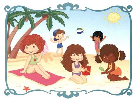 Charlotte aux fraises et ses amis la plage flickr - Charlotte aux fraises et ses copines ...