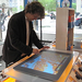 Interacting with Microsoft Surface