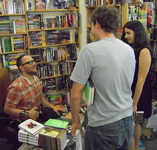 CORY DOCTOROW at Dark Carnival Bookstore in Berkeley #2