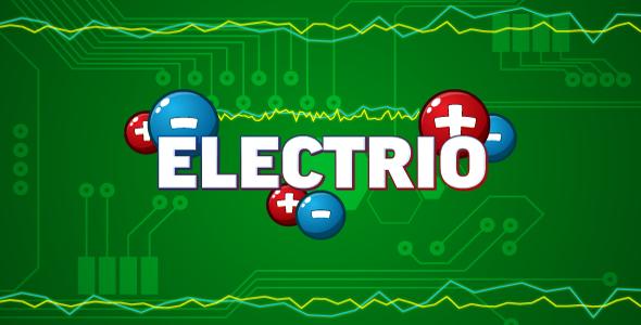 Electrio v1.0 - HTML5 logic game. Construct 2 (.capx)