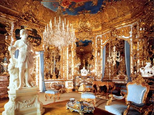 Inside Schloss Linderhof
