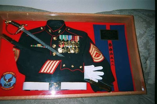 My Military Uniform in a Shadow Box | Flickr - Photo Sharing!