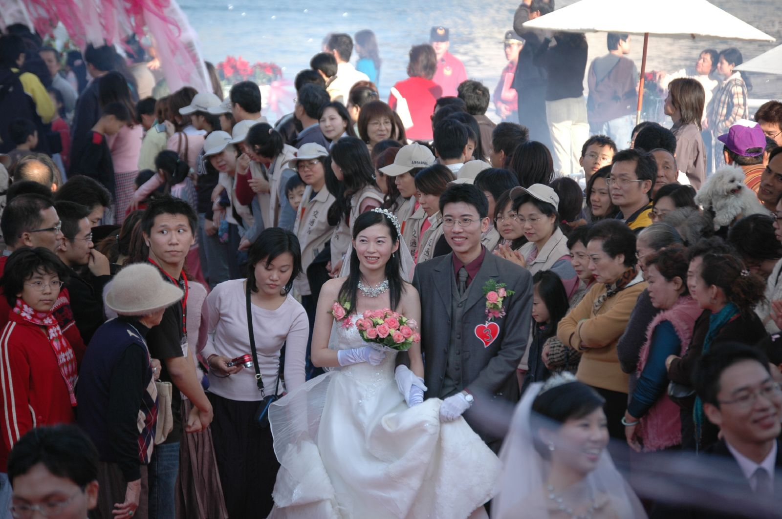 高雄真愛碼頭集團婚禮-2005年