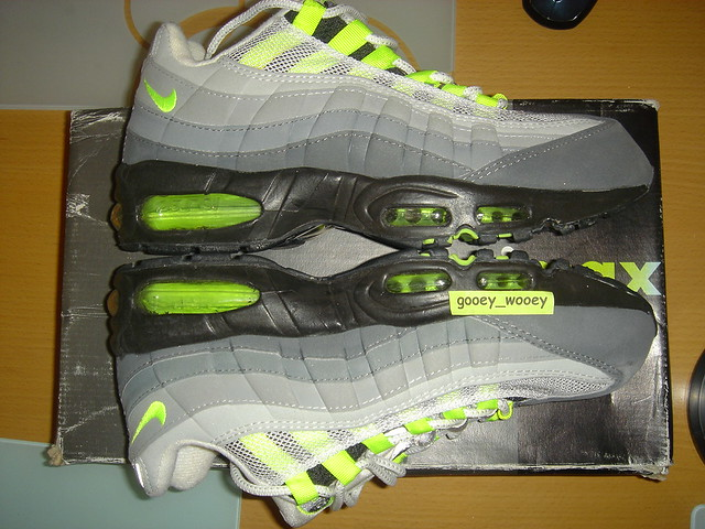 OG Nike Air Max 95 Neon Yellow Gooey WongFlickr Gooey Wong Flickr
