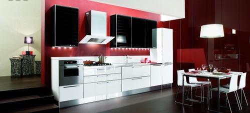 red white and black kitchens 2017 grasscloth wallpaper. Black Bedroom Furniture Sets. Home Design Ideas