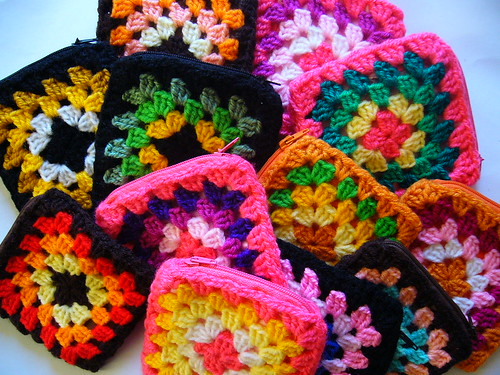 Monederos tejidos a crochet | Flickr - Photo Sharing!